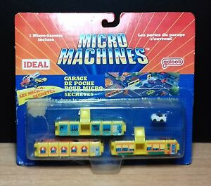 MICRO MACHINES - 1989 - INSIDERS POCKET GARAGE 96-685 LES MICRO-SECRETES - RARE - Italia - MICRO MACHINES - 1989 - INSIDERS POCKET GARAGE 96-685 LES MICRO-SECRETES - RARE - Italia