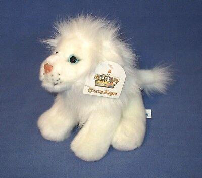 Circus Krone LÖWE King Tonga Plüsch weiß Baby Kuschel Stoff Werbefigur 23 cm neu