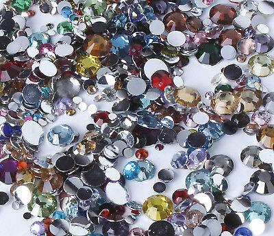 10g Mixed Colour rhinestones