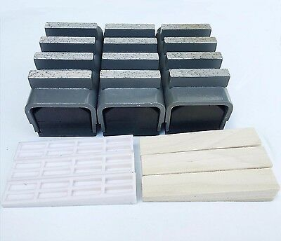 New 3pk 3040 Med Bond Diamond Grinding Blocks Fit Edcostowhusq.gen. Grinders