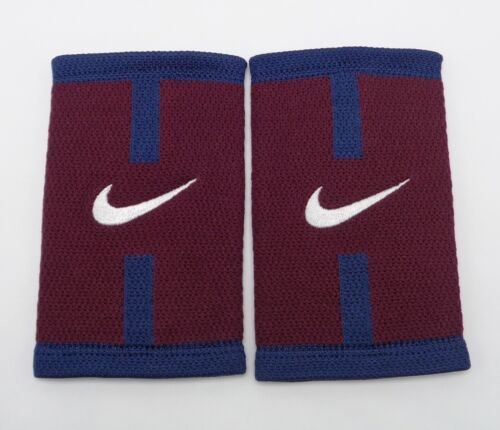 Nike Stealth Doublewide Wristbands Court Logo Night Maroon/Obsidian/White