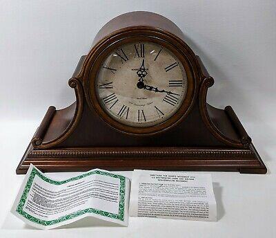 Howard Miller Hampton Quartz Duel Chime Mantel Clock 630-150 72nd Anniversary