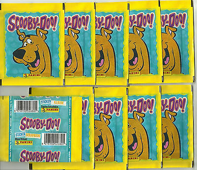 2005 PANINI Scooby Doo 10 Sealed Packets Hanna Barbera
