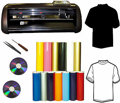 New 14 1000g Vinyl Cutter Plottersignvinyldecalpu Vinylt-shirt Heat Press