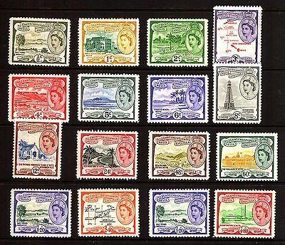 St Christopher Nevis Anguilla 1954/57 Definitive Set 2 x 60c 2 x $1.20 MM Mint