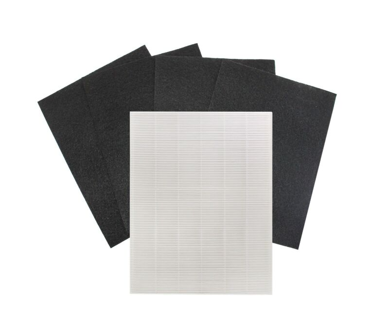 True HEPA + 4 Replacement Filters for Winix 115115 PlasmaWave 5300 5500 Size 21