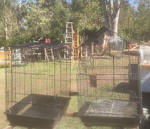 2  BLACK  BIRD  CAGES Stockleigh Logan Area Preview