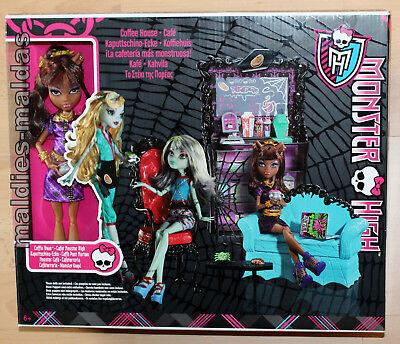 Monster High Kaputtschino Ecke & Clawdeen Wolf NEU/OVP Möbel Sofa Stuhl X3721