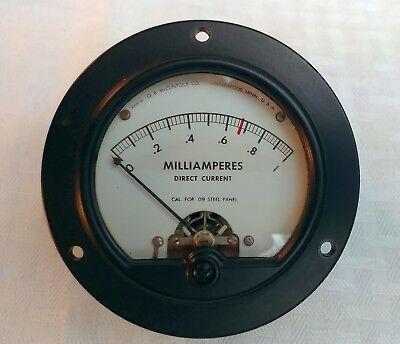 Triplett Etc Milliamp Ma Panel Meters Great Usa Vintage Select Range