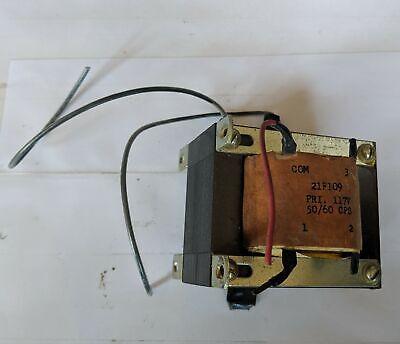 Thordarson 21f109 Filament Transformer - 117v Tapped 6.06.57.0v At 13a