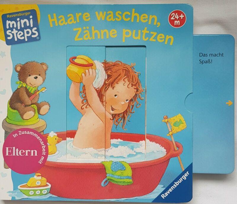 Ministeps Buch: Haare waschen, Zähne putzen, ab 24 Monaten Sandra Grimm