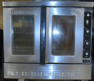 Blodgett Dfg-100 Single Full Size Natural Gas Convection Oven Bakery