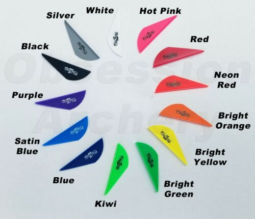 Bohning Blazer Vanes 50 or 100 Pack Arrow 13 Colors Mix & Match Pack You Choose