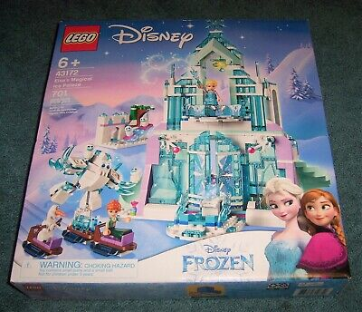 Lego DISNEY Friends FROZEN Elsa's Magical Ice Palace 43172 NEW Set Castle Olaf