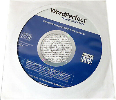 Pack Dell Business (NEW Sealed WordPerfect PRODUCTIVITY PACK Recovery CD, PN KD372, Dell P/N:0CD940)