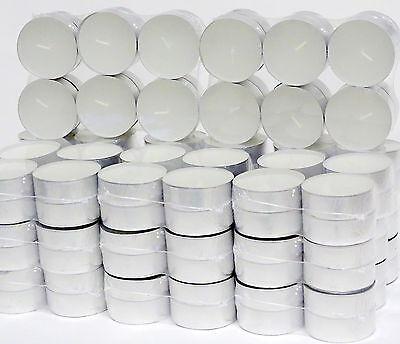 Groß 9 Lichte (24 - 432 Stück Maxi Teelichter 9 Stunden 6 x 2 cm Jumbo Maxi-Lichte Weiß)