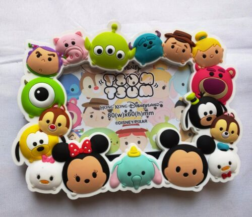 Hong Kong Disneyland Disney Tsum Tsum Magnet Stand Frame Brand New!