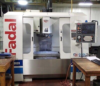 Fadal Vmc 3020 Ht Vertical Machining Center- Performance Series 2004 Clean