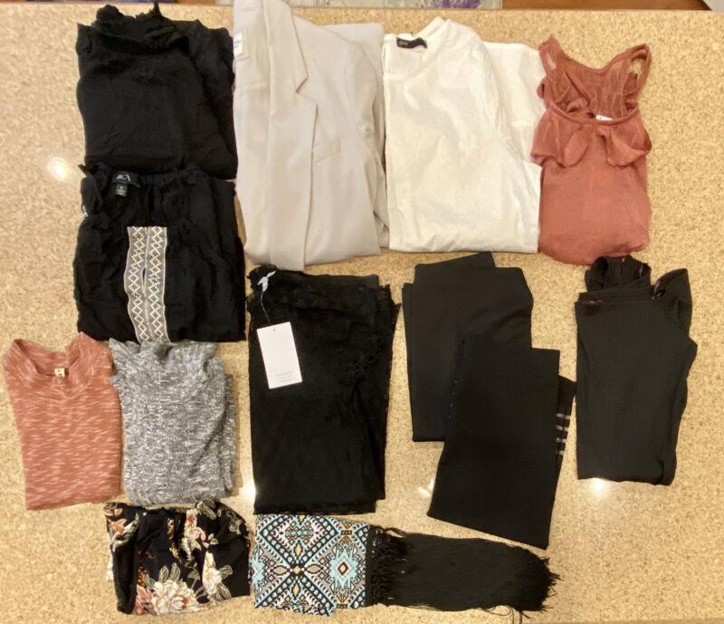 Womans Junior Size Medium Going Out Lot NWT 13 Pcs
