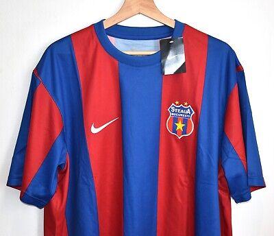 BNWT NEW 2009 2010 STEAUA BUCHAREST STEAUA BUCURESTI FOOTBALL SHIRT SIZE XL  image