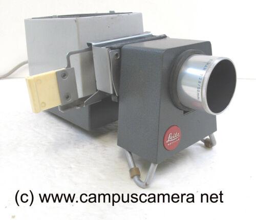 Leitz Pradix 35mm Compact Slide Projector w/Elmar 50mm f2.8 Lens FULLY TESTED