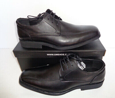 Mens Black Leather Shoes New Lace Up Formal Wedding Office Dress UK Sizes 7-11