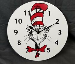 Trend Lab 30067 Cat In The Hat Circular Wall Clock 11
