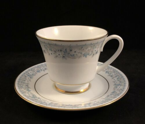 Contemporary Fine China by Noritake - Iona #2180 Gold Gilded Cup & Saucer