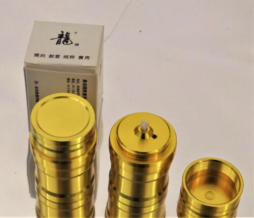 2x Alcohol Burner 10 ml 0.34 Oz Spirit Lamp Torch Lab Mini Miniture Cute New