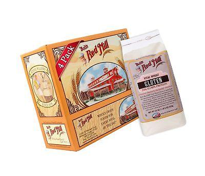 Bob's Red Mill Vital Wheat Gluten Flour, 22-ounce (Pack of 4) Bobs Red Mill Vital Wheat Gluten Flour