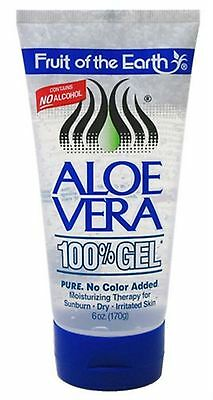 Fruit of the Earth Aloe Vera 100% Gel 6 oz