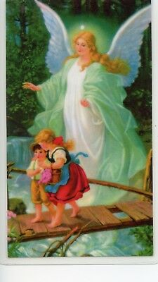 PRAYER TO YOUR GUARDIAN ANGEL - Laminated  Holy Cards.  QUANTITY 25 CARDS