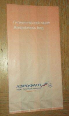 Aeroflot: Sick Bag new, unused