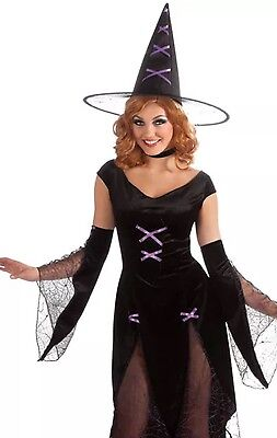 Halloween Sensations Madonna Of Salem Costume Standard Up to Dress Size 12