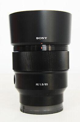 Sony FE SEL85F18 85mm F/1.8 Lens