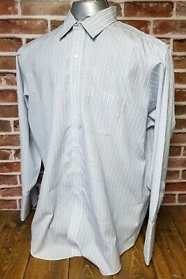 BROOKS BROTHERS Mens Long Sleeve French Cuff Dress Shirt Size 17 - 33