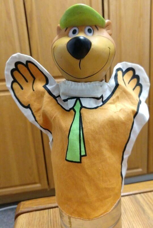 Vintage Yogi Bear Hand Puppet, 1960 Hanna Barbera