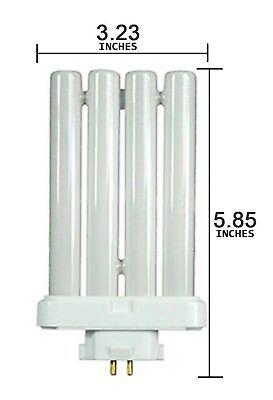 Watt Compact Fluorescent Lamp - Light Bulb Compact Fluorescent 27W FML27W 27 Watt - 4 Pin Quad Style Lamp