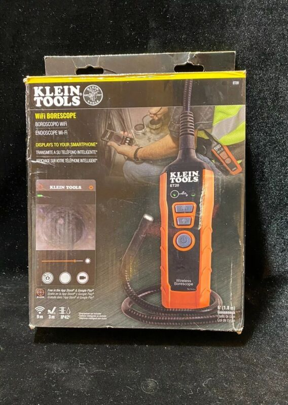 Klein Tools ET20 WiFi Borescope Inspection Camera FREE SHIPPING