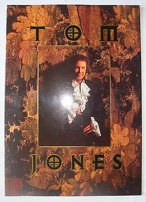 Concert Programme: Tom Jones, 1994 Tour, VGC