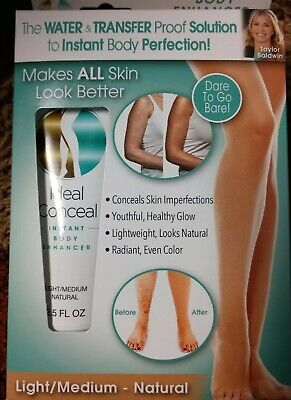 NEW Ideal Conceal Light Medium Natural Body Enhancer -Makes Skin Look All