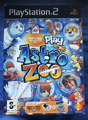EYE TOY PLAY ASTRO ZOO + CAMARA Sony Playstation 2 ( ps2...