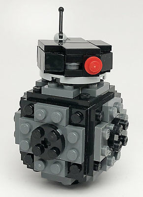 Constructibles Bad Robot Mini Model   Lego  Parts   Instructions Kit