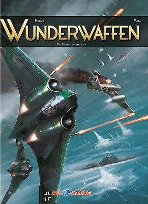 WUNDERWAFFEN #6 (deutsch) VZA LUXUS-HC EA lim.33 Ex.+ signed Artprint ALL-Verlag