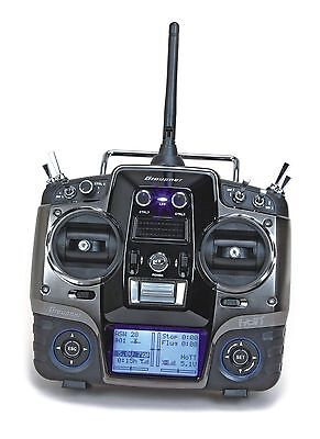 Graupner MX-20 HoTT 2.4 GHz Fernsteuerung 12 K. Einzelsender 33124 Messepreis