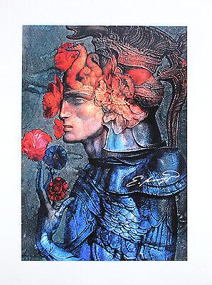 Ernst Fuchs - Lohengrin - handsigniert