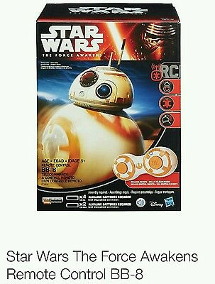 BB-8 STAR WARS REMOTE CONTROL TARGET EXCLUSIVE TOY THE FORCE AWAKENS Droid New