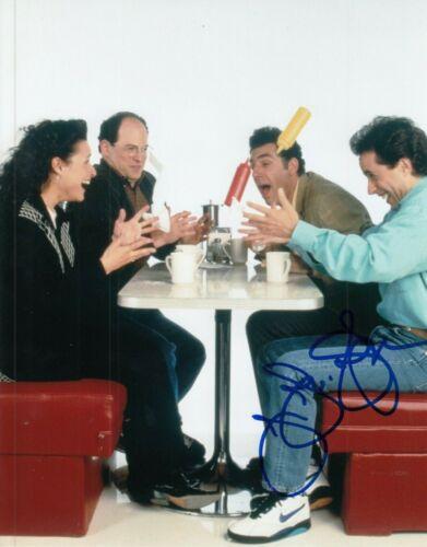 """JULIA LOUIS-DREYFUS signed (SEINFELD) 8X10 photo """"Elaine Benes"""" auto W/COA #8"""