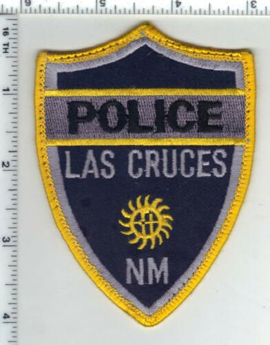 Las Cruces Police (New Mexico) 3rd Issue Uniform Take-Off Shoulder Patch