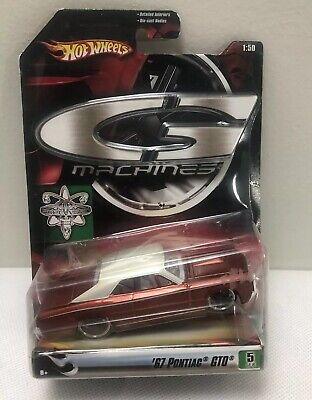 Hot Wheels G Machines 67 Pontiac GTO. Red New